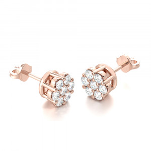 Lily Cluster Earrings