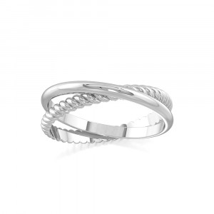 Crossover Ring Statement Ring
