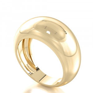 Gold colossal Statement Ring