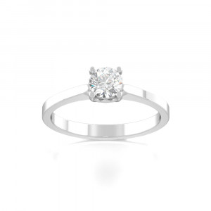Bliss Ring Solitaire Diamond Rings